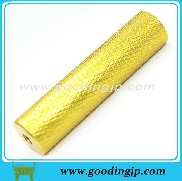 aluminum knurled pin handle